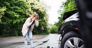 schade verkeersongeval